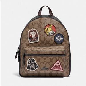 Star Wars X Coach Charlie Backpack With Patches